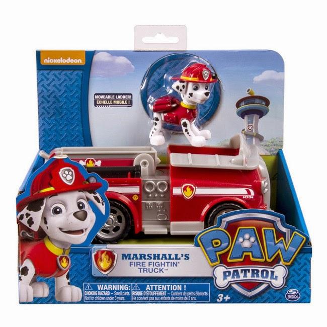 JUGUETES - Paw Patrol | La Patrulla Canina  El Camión de Marshall  TOYS | Marshall's Fire Fightin' Truck  Producto Oficial Serie Nickelodeon | Spin Master | A partir de 3 años