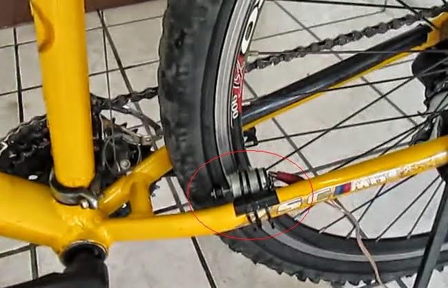 dínamo caseiro para bikes