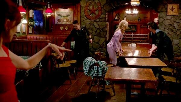 Jason y Briggite en 'True Blood 7x09'