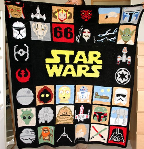 Star Wars Blanket - Free Pattern
