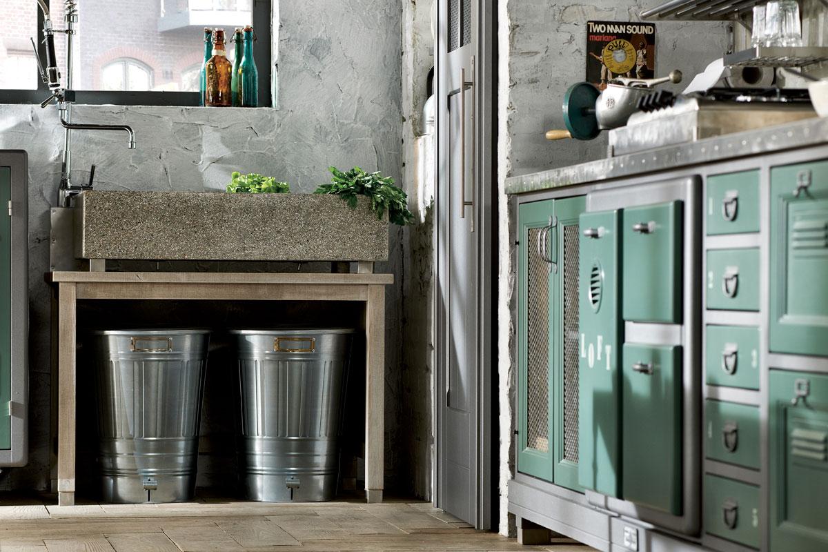 Deco una de cocinas vintage industrial virlova style for Marchi group cucine
