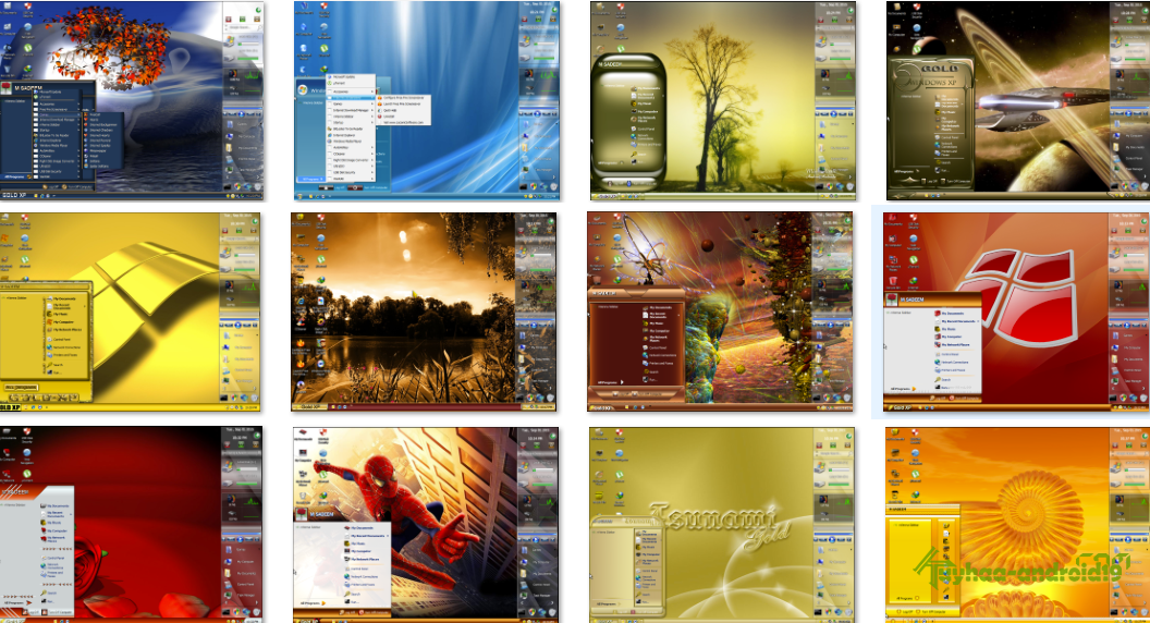 Theme windows Xp collection