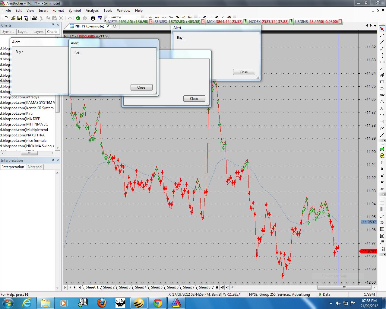Bhs trading system afl