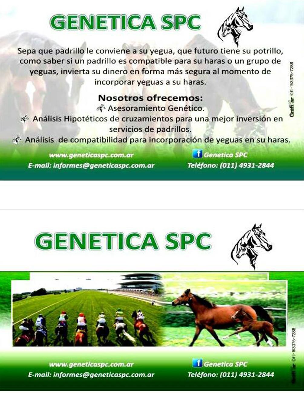 GENÉTICA SPC