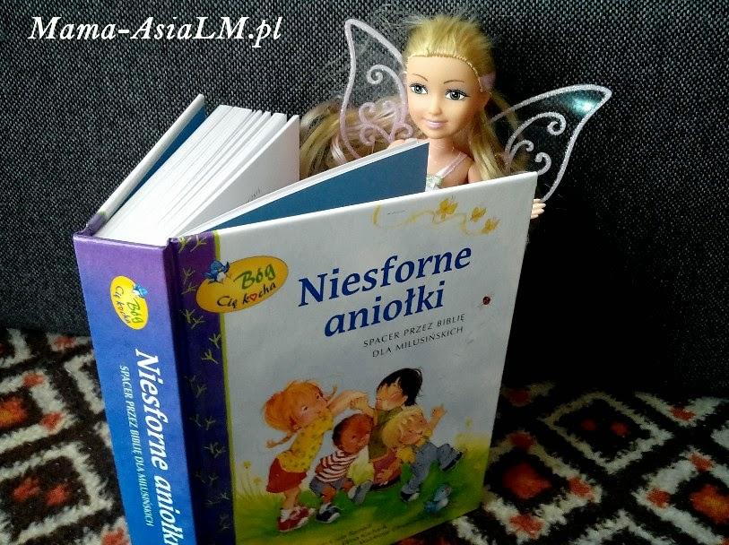 Niesforne aniołki vocatio okładka książki