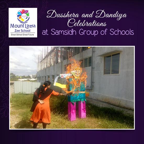 Samsidh Mount Litera Zee School Dusshera Celebrations By Young