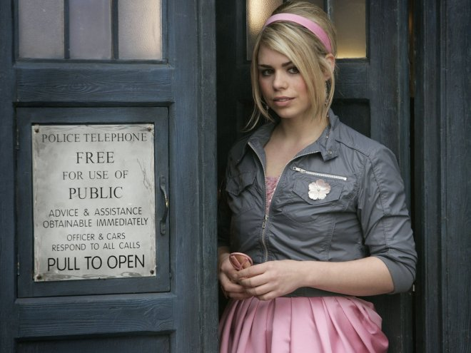 Billie Piper as Rose Tyler (Doctor Who bonus picture 2/2)