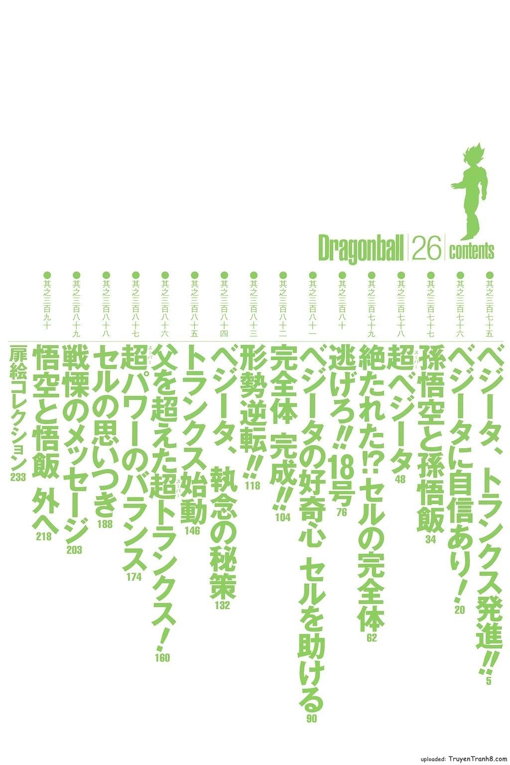 xem truyen moi - Dragon Ball Bản Vip - Bản Đẹp Nguyên Gốc Chap 375