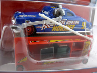 cars doc hudson with stand