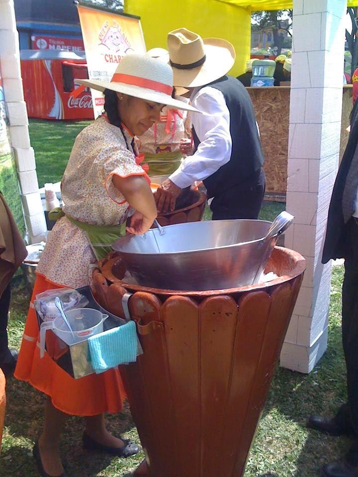 Festival del Queso helado Arequipeño