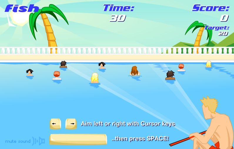 Fishing games fish for girls for Fishing games for girls
