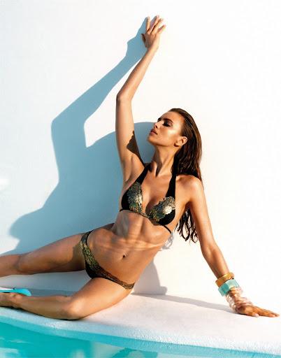 Irina Shayk Beach Bunny sexy swimwear 2013