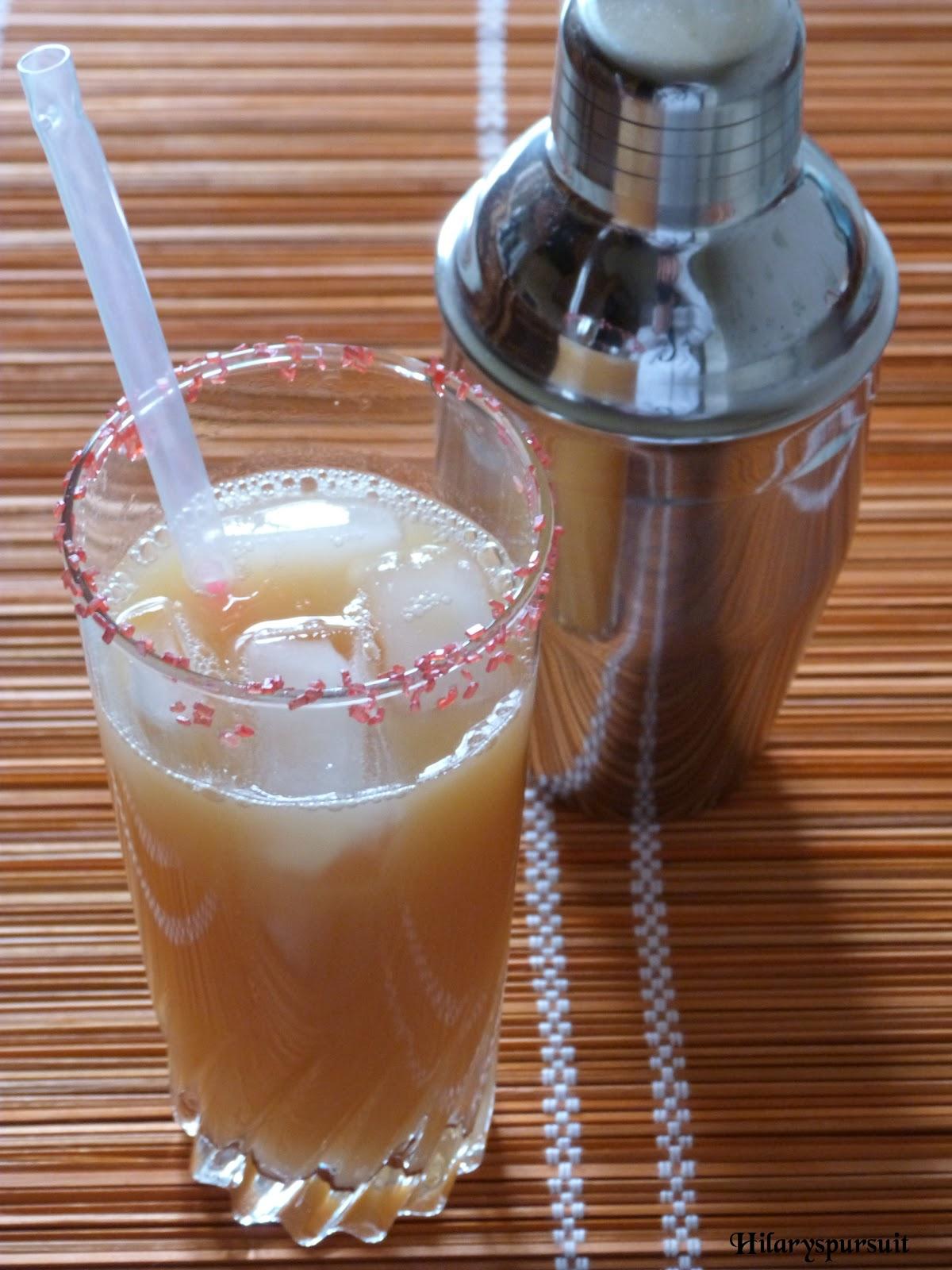 Dans la cuisine d 39 hilary cocktail mexicana mexicana for Cocktail 7cl