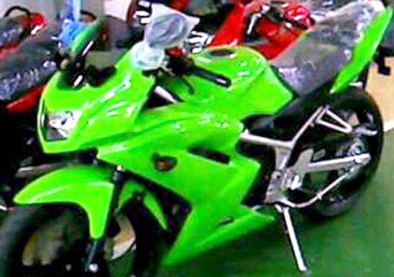 Kawasaki Double R Baru