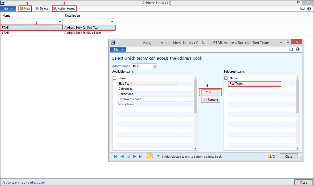 ax 2012 address book security based on team microsoft dynamics