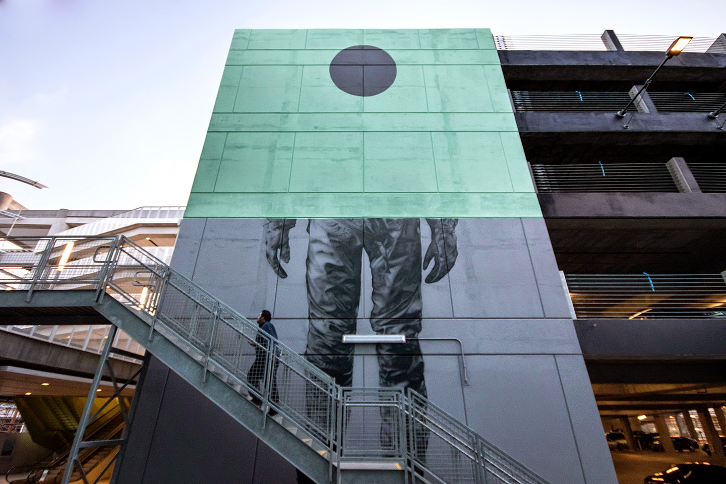 Our friends from Cyrcle have been rather busy with a brand new series of massive pieces in Playa Vista, Los Angeles.