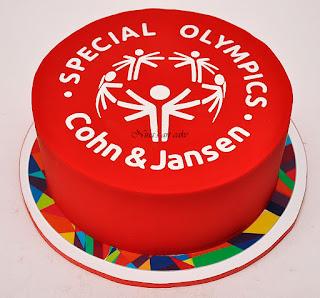 "Tort ""Special Olympics Logo"""