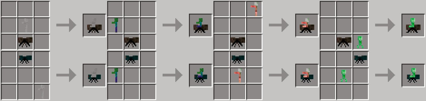 Craftable Animals Mod crafteos arañas