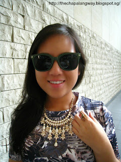 sunglasses, korea, giraffe ring, unique rings, statement necklace, Forever 21, Forever 21 statement necklace