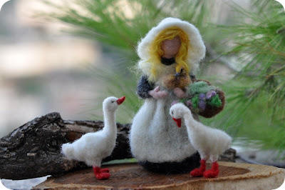 Goose Girl by Daria Lvovsky at Serendipity Handmade blog