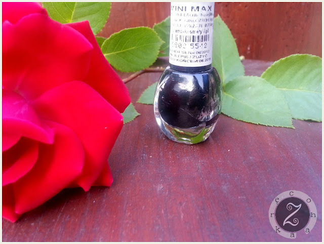 czarny lakier mini max