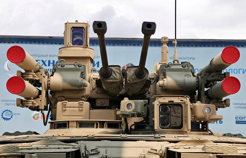 مركبة دعم المشاة القتالية الحديثة Terminator 2 BMPT BMPT+Terminator+05