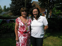 Patricial Ling and Hertford Town Mayor Patricia Moore
