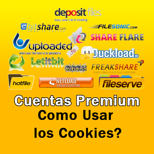 Como Utilizar los famosos Cookies en las Cuentas Premium