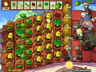 Plant Vs. Zombie link-soft.blogspot.com