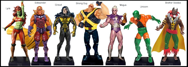 <b>Wave 48</b>: Lyra, Sidewinder, Giraud, Strong Guy, Magus, Unicorn and Brother Voodoo