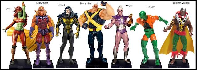 <b>Wave 48</b>: Lyra, Sidewinder, Giraud, Strong Guy, Magus, Unicorn and Brother Voodoo