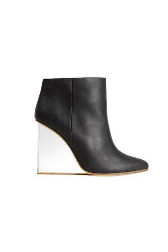 margiela per h&M stivaletto, margiela hm tacco plexiglass, margiela per h&M prezzi, Margiela per h&m collezione, Margiela per h&M price, Margiela for Hm plexiglass ankle boots price