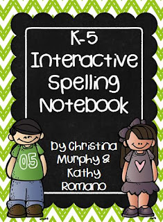 http://www.teacherspayteachers.com/Product/K-5-Interactive-Spelling-Notebook-950020