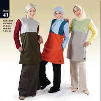 Kaos Lengan Panjang Wanita Muslimah