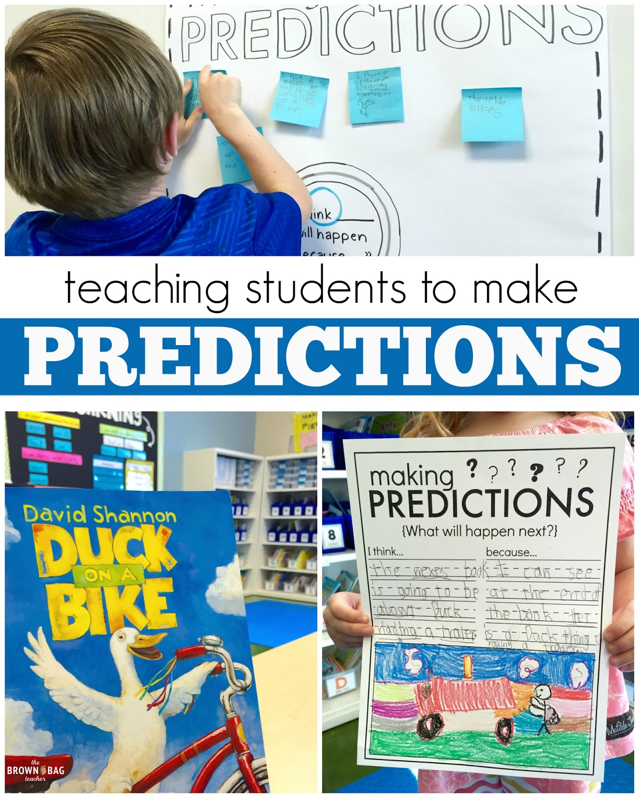 Making Predictions: 1st Grade Read Aloud | The Brown-Bag Teacher ...