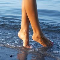Baile pentru brate si picioare, calcatul in apa, roua, zapada si efectul lor