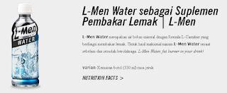 L Men Water Pembakar Lemak