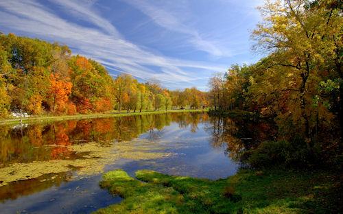 Paisaje de otoño - Autumn landscape