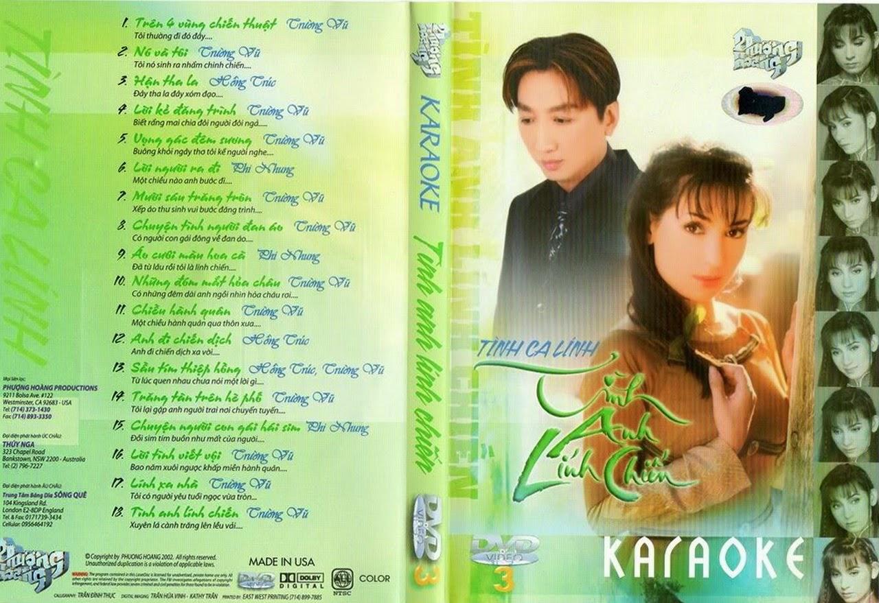 Phượng Hoàng Karaoke 03 - Tình Anh Lính Chiến [DVD.ISO]
