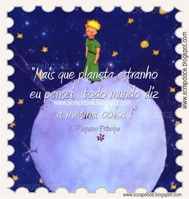 """Mensagem com frase do livro """"O Pequeno Príncipe"""" para compartilhar no Facebook e Orkut"""