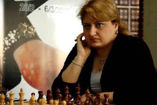Echecs à Doha : Elina Danielian (ARM 2454)