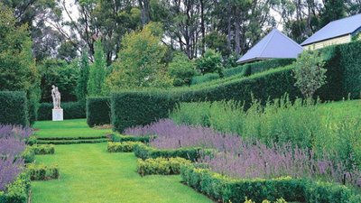 A library of design gatsby inspired blue gardens for Australian country garden design