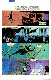 Wolverine v1 #4 marvel comic book page art by Frank Miller