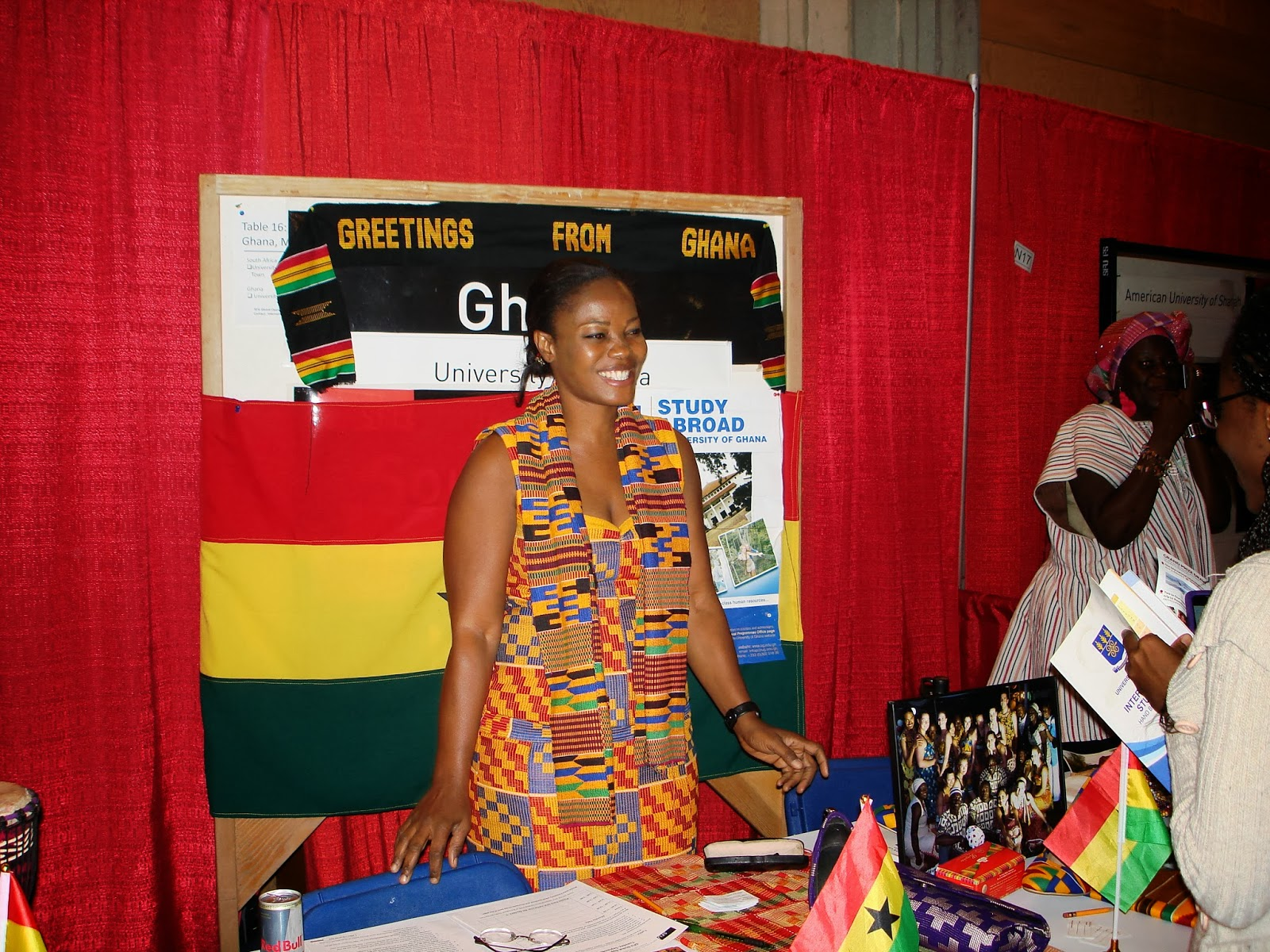 University of ghana exchange programme participants represent ug in with our faculty members themselves decked out in traditional apparel the stand they set up portrayed ghanaian culture in a unique way m4hsunfo Gallery