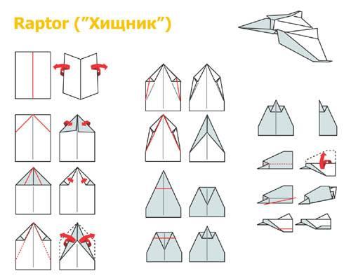 Как сделать истребителя из бумаги