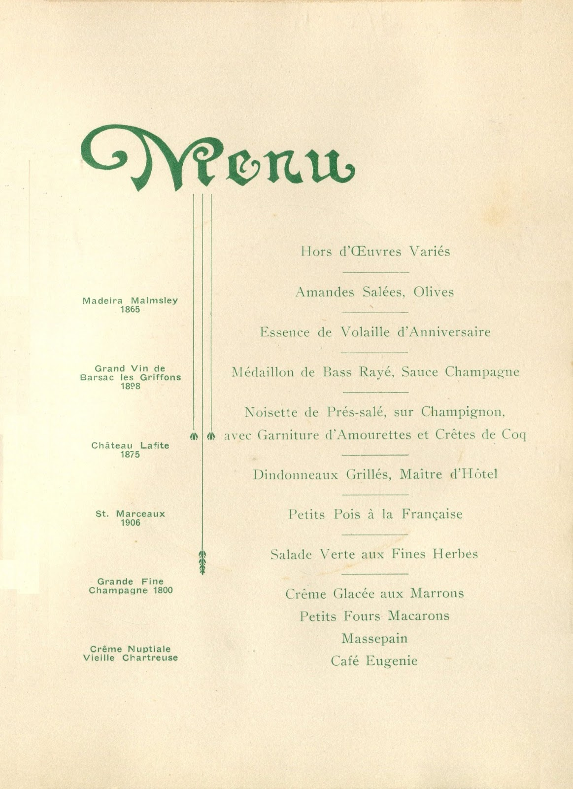 Dinner party set menu 9 february 1920 5 x 7 190 in p 4