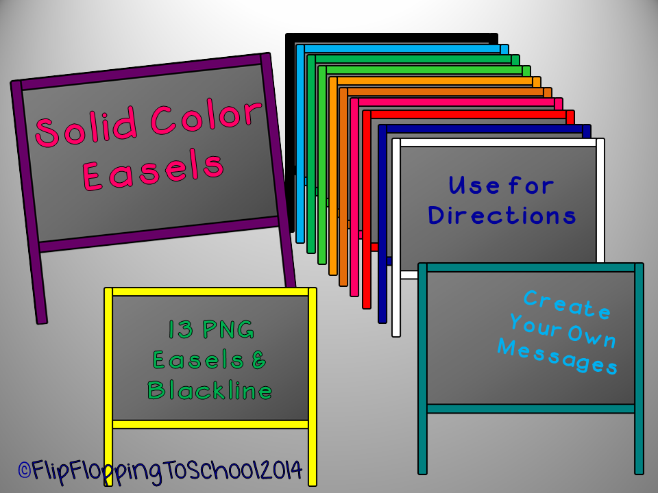 http://www.teacherspayteachers.com/Product/Solid-Color-Easel-Chalkboard-Clipart-for-Personal-and-Commercial-Use-1351630