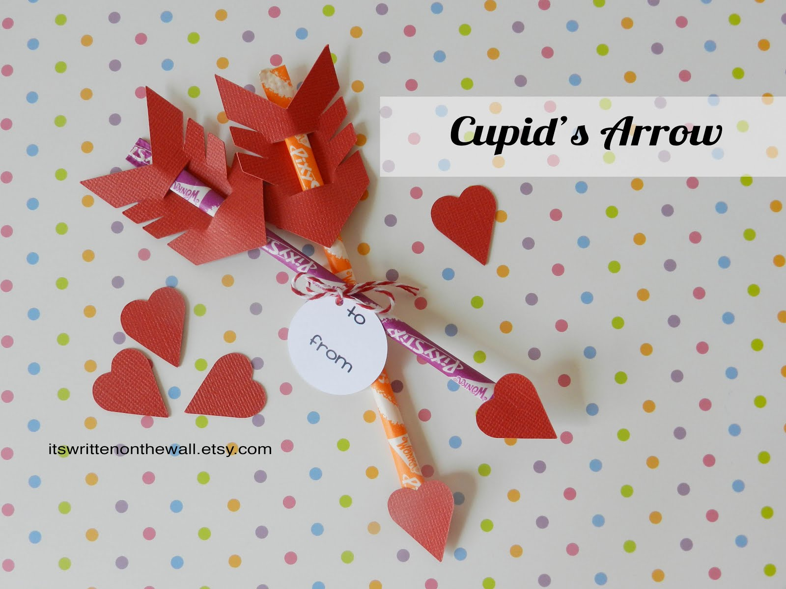 Fun Candy  Cupid's Arrow-Can be Sugar Free too