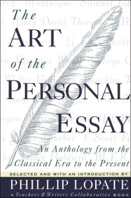 art of the personal essay introduction An introduction to help students writing art and design essays simple tips for structure and content making essays simpler and more creative.