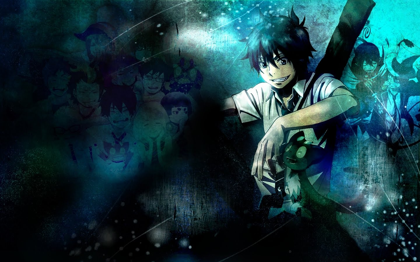 wallpaperanimalcat: ao no exorcist wallpaper | wallpaperanimalcat
